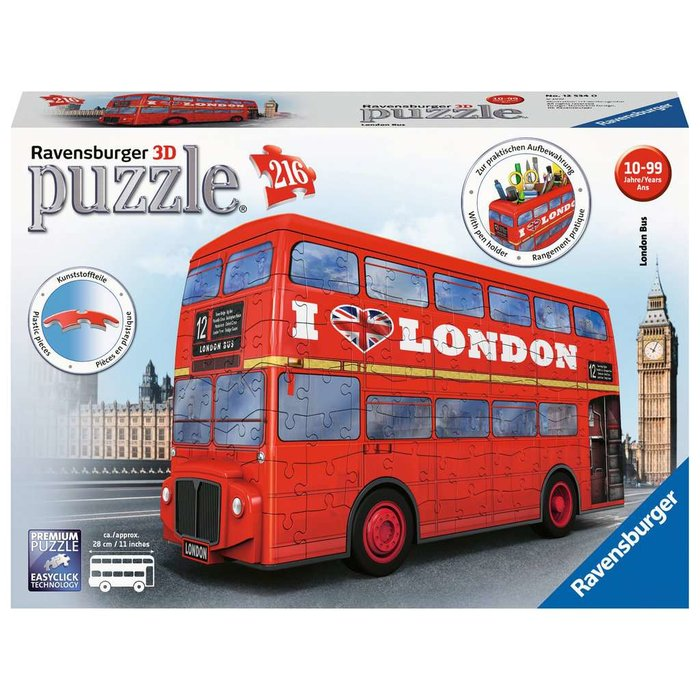 Ravensburger - 3D Puzzle LONDON-BUS (216 TEILE)