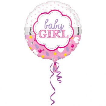 Amscan - Folienballon Baby Girl (5)